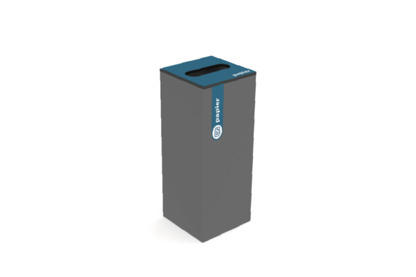 Variobin Antraciet papier afval